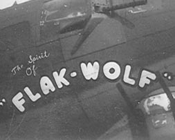 "Spirit of Flak-Wolf The replacement Fortress for the earlier ""Flak-Wolf"""